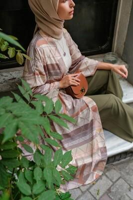 Esra Keküllüoğlu - Çağla Kimono-Bej