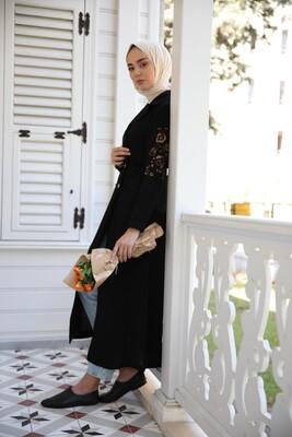 Esra Keküllüoğlu - Ceket Elbise-Siyah