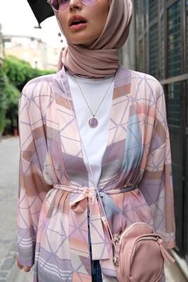 Esra Keküllüoğlu - Çiğdem Kimono-Bej