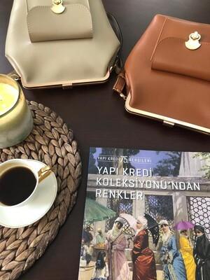 Esra Keküllüoğlu - Kuzguncuk Çanta-Bej