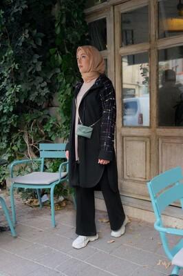 Esra Keküllüoğlu - Selanik Chanel Takım-Turkuaz